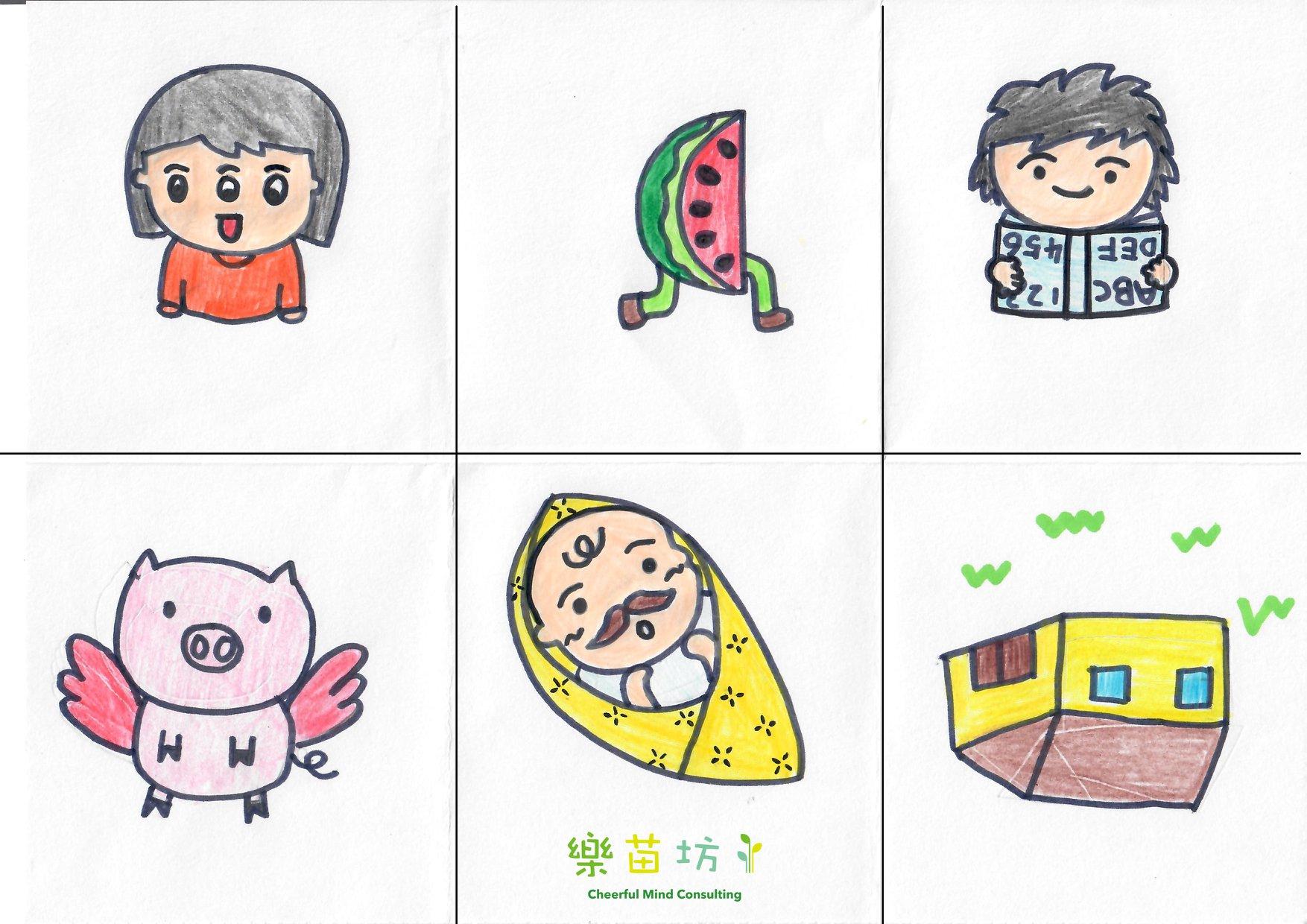 【會飛的豬?! 有腳的西瓜?!】鄭文琦姑娘(樂苗坊高級言語治療師)  想提升孩子的語言能力,第一步要加強他們發言的興趣。